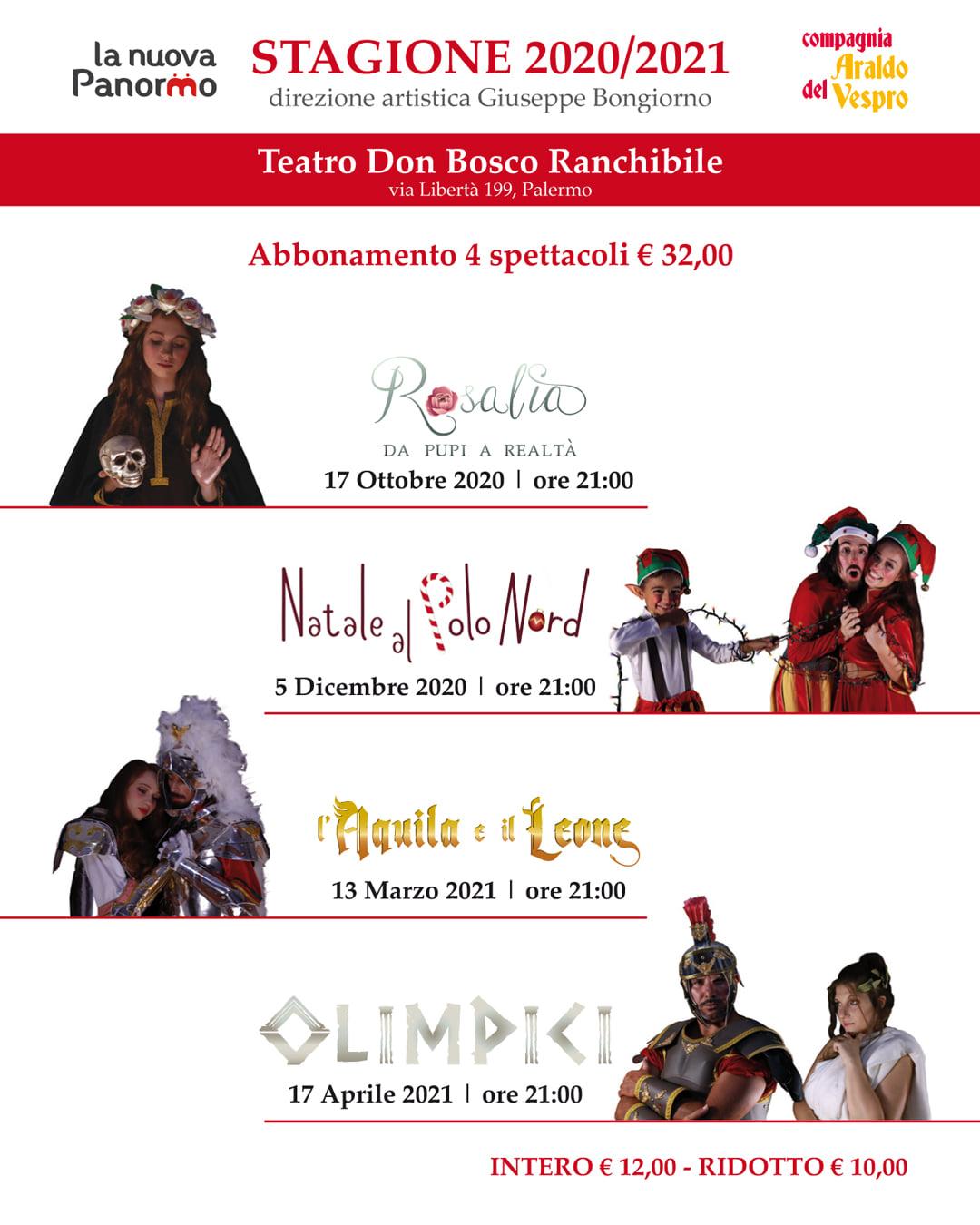 Araldo del Vespro compagnia teatrale Palermo